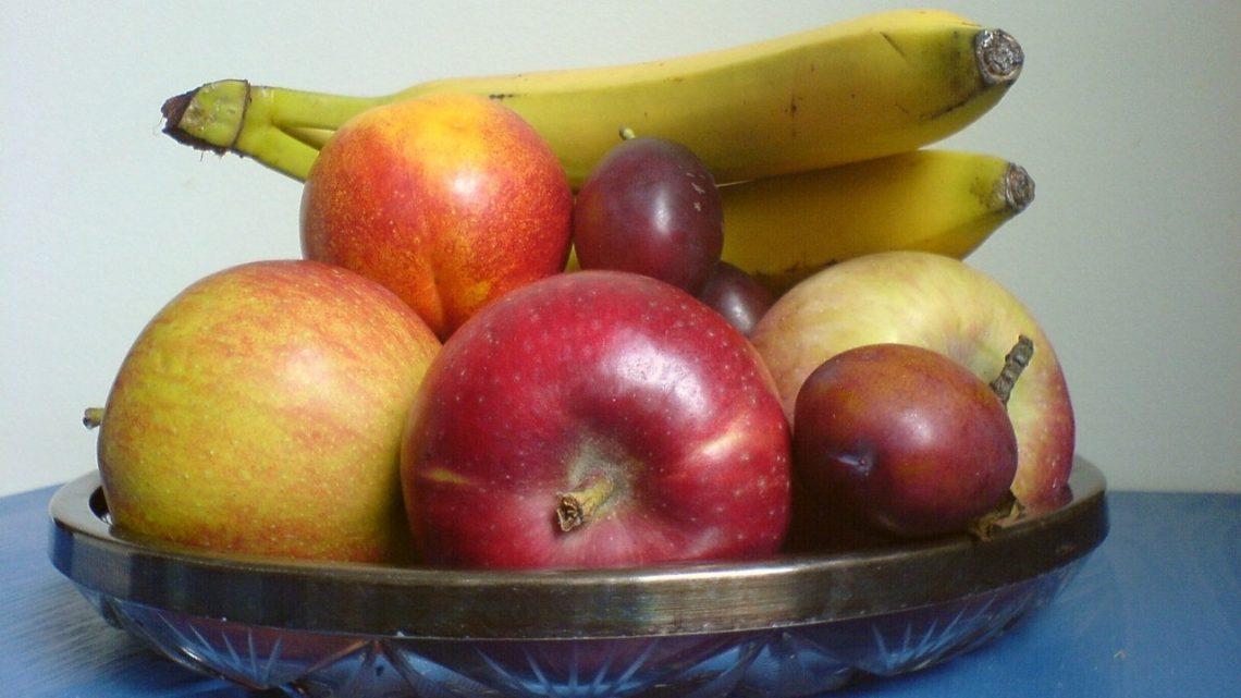 Świeże warzywa, owoce i ruch na świeżym powietrzu
